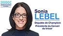 Logo Sonia Lebel - Député de Champlain