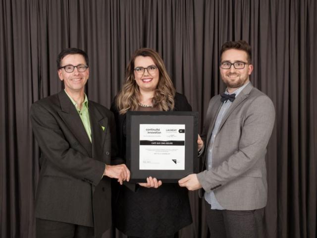 Gala reconnaissance 2017 - Lauréat Développement durable