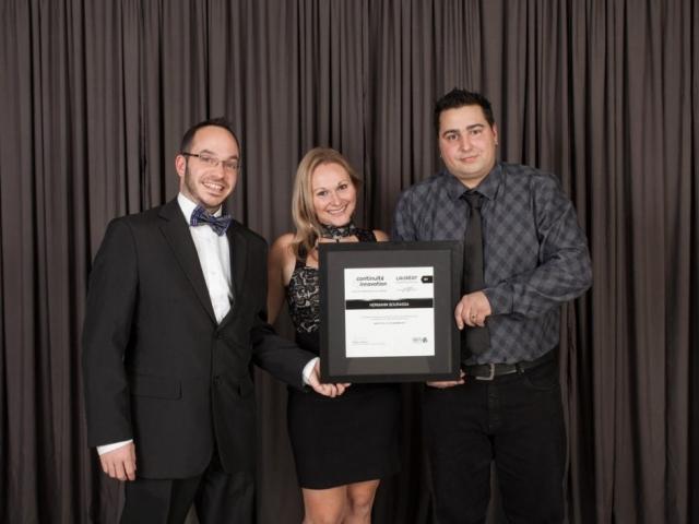 Gala reconnaissance 2017 - Lauréat Entrepreneuriat jeunesse