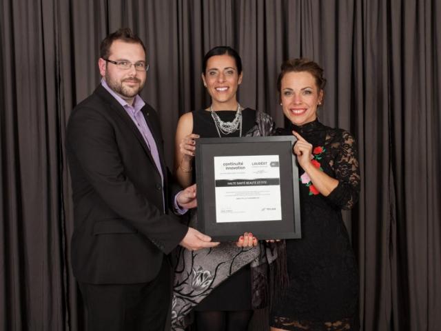 Gala reconnaissance 2017 - Lauréat Entreprise commerciale