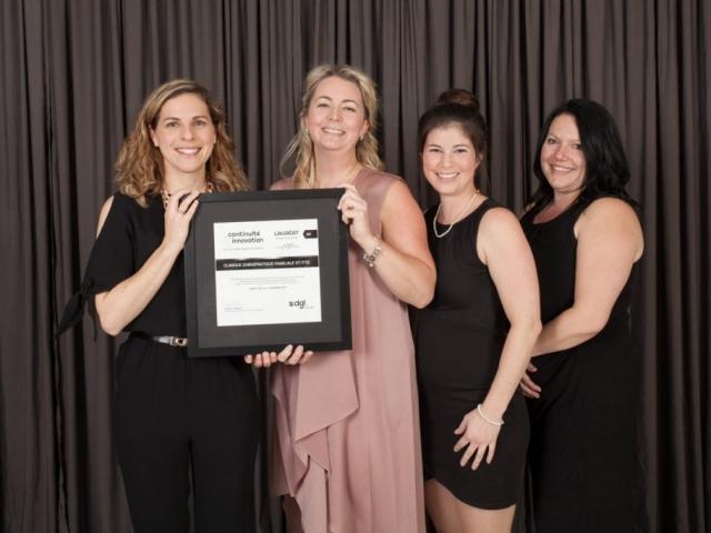 Gala reconnaissance 2017 - Lauréat Entreprise de service