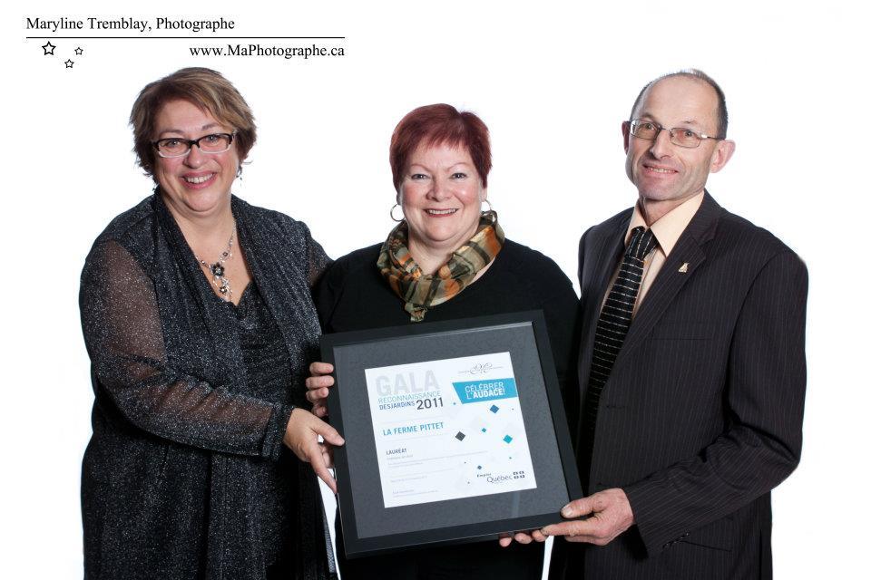 Gala reconnaissance Desjardins 2011 - Lauréat Employeur de choix