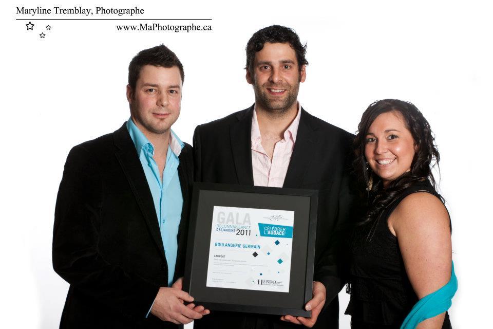 Gala reconnaissance Desjardins 2011 - Lauréat Entreprise commerciale 5 employés et moins