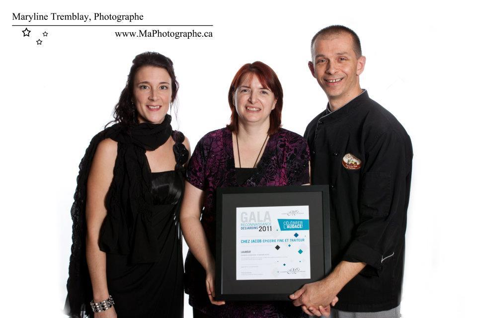 Gala reconnaissance Desjardins 2011 - Lauréat Entreprise commerciale 6 employés et plus
