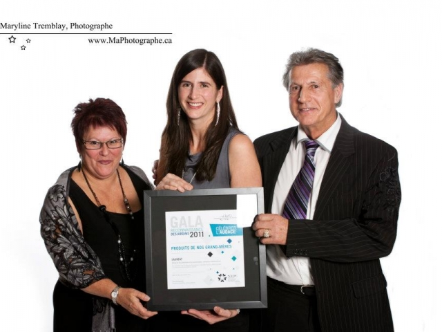 Gala reconnaissance Desjardins 2011 - Lauréat Entreprise manufacturière