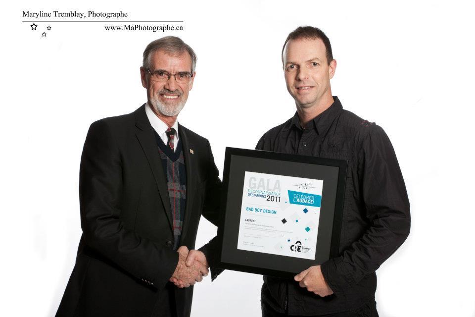 Gala reconnaissance Desjardins 2011 - Lauréat Entreprise de service 5 employés et moins