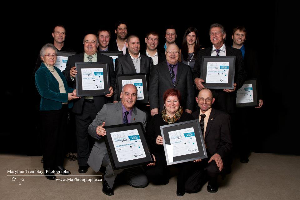 Gala reconnaissance Desjardins 2011 - Lauréats