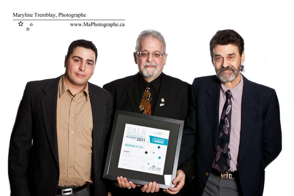 Gala reconnaissance Desjardins 2011 - Lauréat Nouvelle entreprise