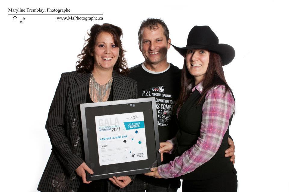 Gala reconnaissance Desjardins 2011 - Lauréat Tourisme