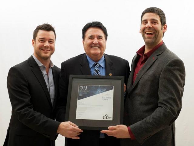 Gala reconnaissance Desjardins 2014 - Lauréat Entreprise commerciale et restauration