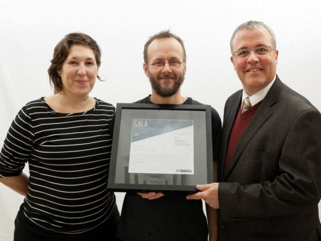 Gala reconnaissance Desjardins 2014 - Lauréat Entreprise du terroir