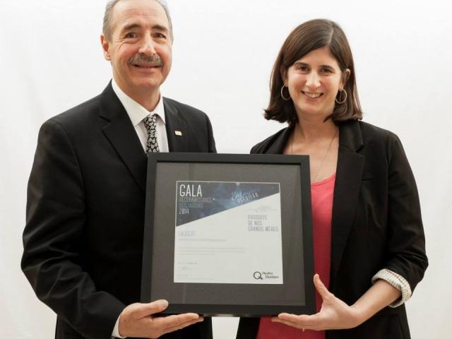 Gala reconnaissance Desjardins 2014 - Lauréat Innovation et technologie