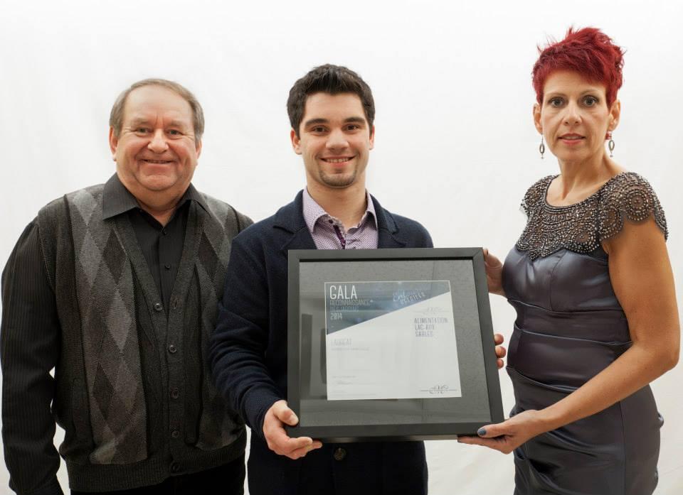 Gala reconnaissance Desjardins 2014 - Lauréat Mention spéciale CCM