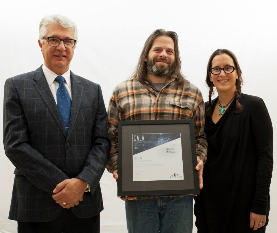Gala reconnaissance Desjardins 2014 - Lauréat Nouvelle entreprise