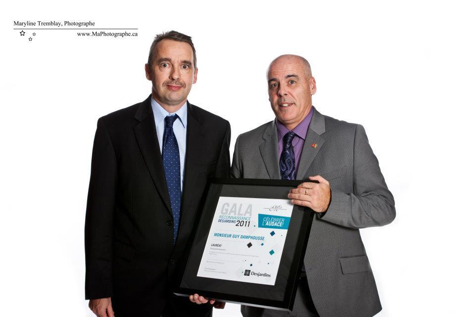 Gala reconnaissance Desjardins 2011 - Lauréat Personnalité d'affaires Desjardins