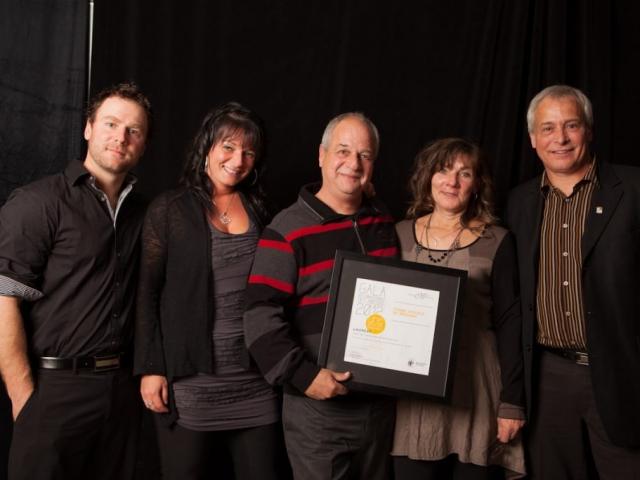 Gala reconnaissance Desjardins 2012 - Coup de coeur des municipalités - Hérouxville