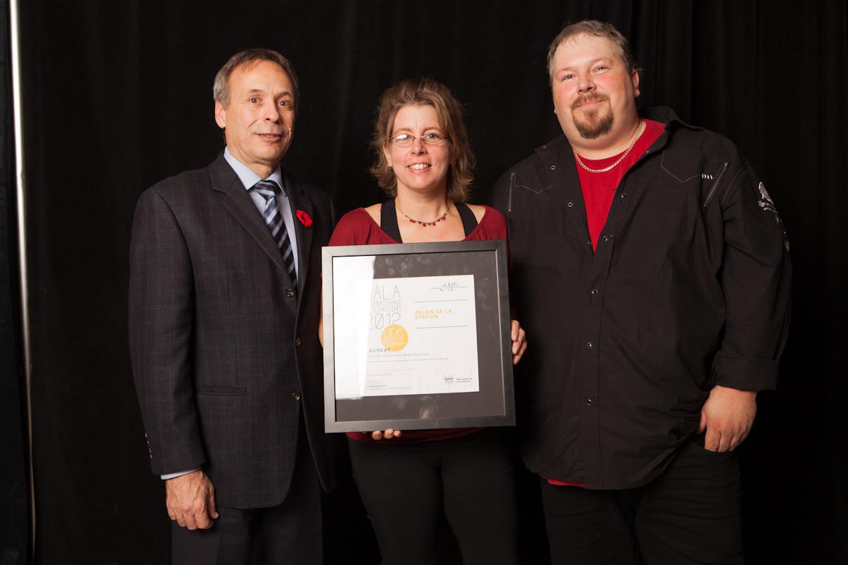 Gala reconnaissance Desjardins 2012 - Coup de coeur des municipalités - Saint-Séverin