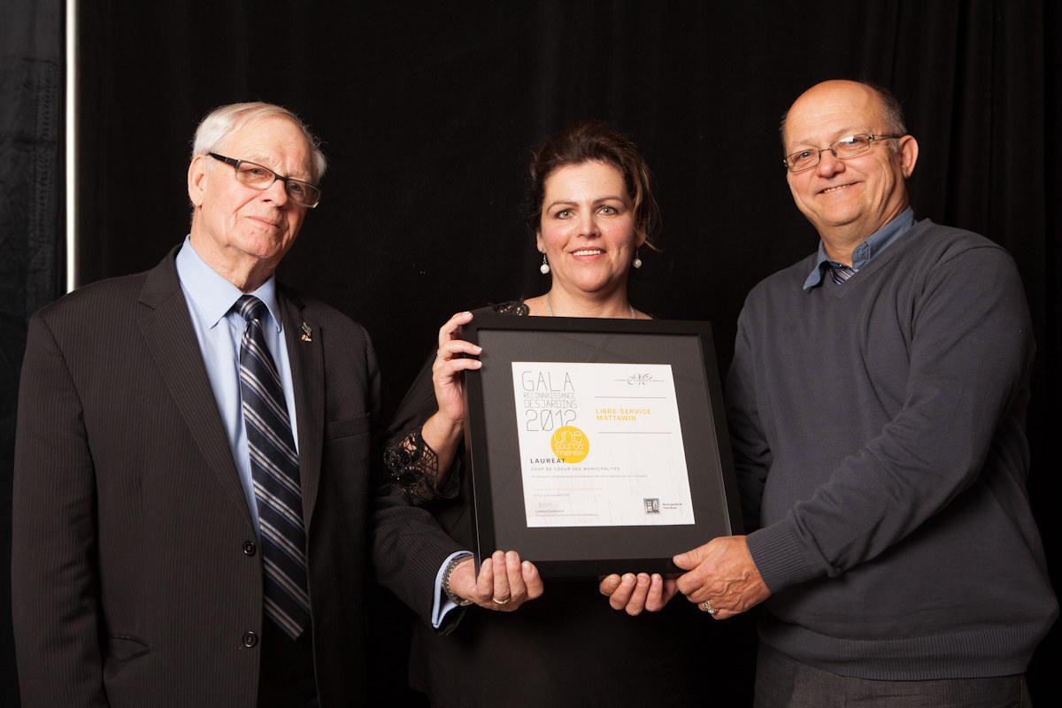 Gala reconnaissance Desjardins 2012 - Coup de coeur des municipalités - Trois-Rives