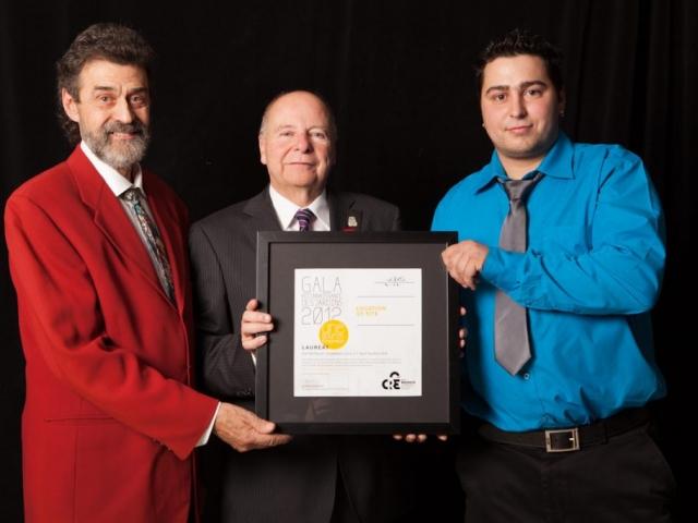 Gala reconnaissance Desjardins 2012 - Lauréat Entreprise commerciale et restauration
