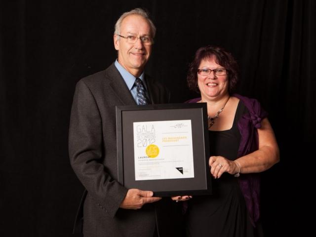 Gala reconnaissance Desjardins 2012 - Lauréat Entreprise manufacturière