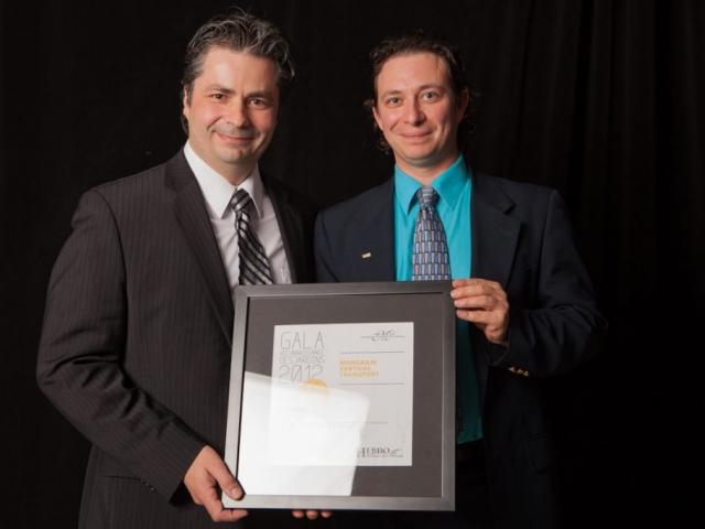 Gala reconnaissance Desjardins 2012 - Lauréat Entreprise de service