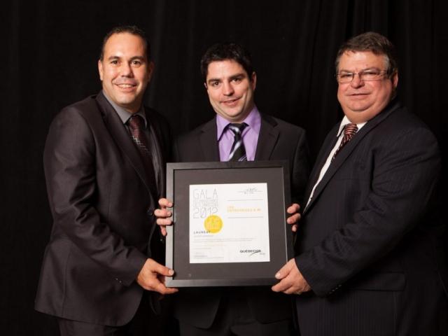 Gala reconnaissance Desjardins 2012 - Lauréat Investissement