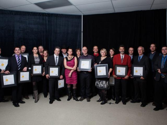 Gala reconnaissance Desjardins 2012 - Lauréats