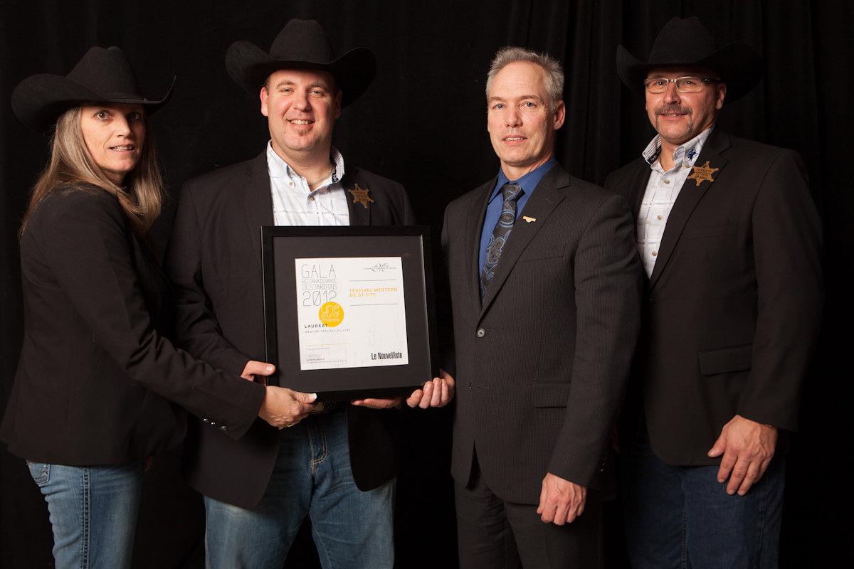 Gala reconnaissance Desjardins 2012 - Lauréat Mention spéciale du jury
