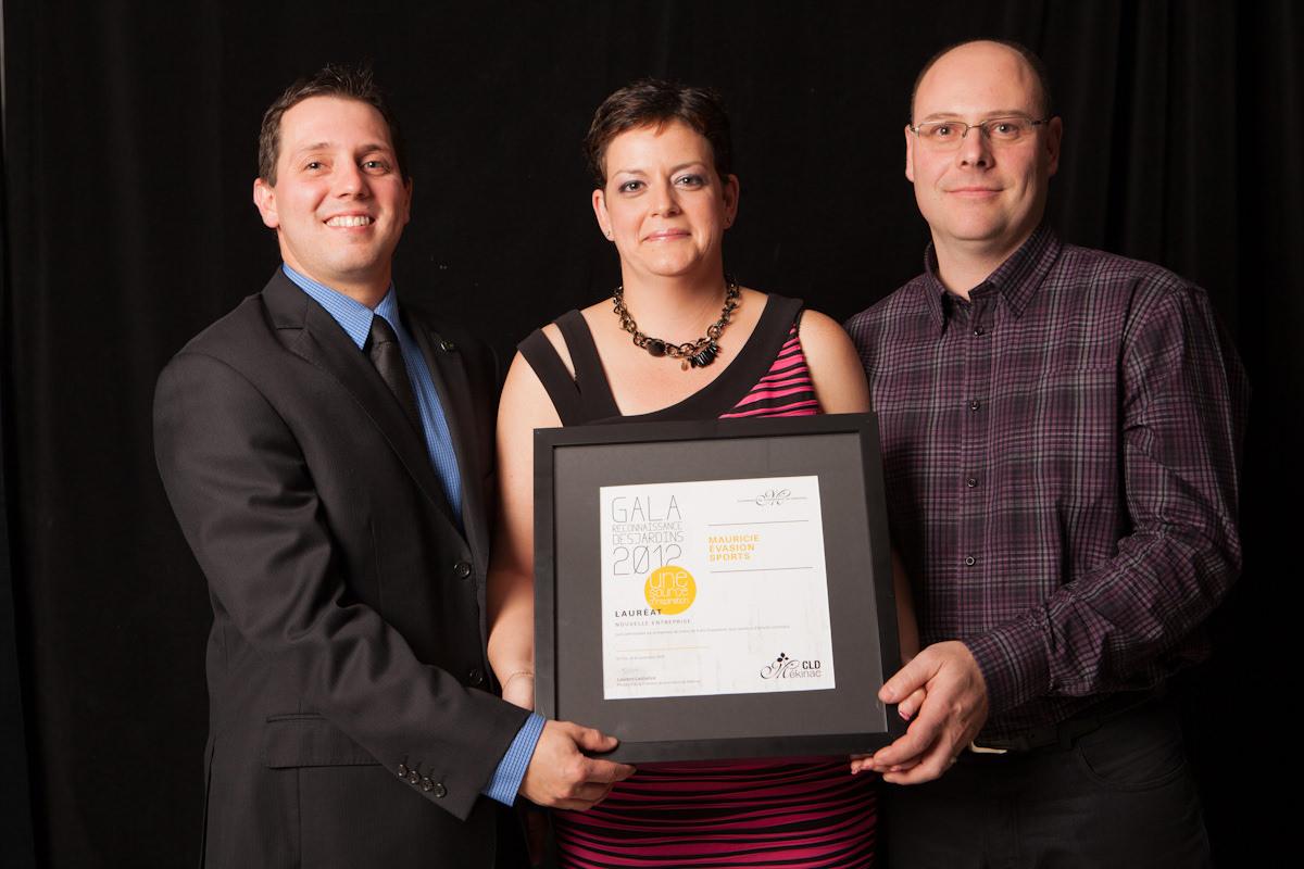 Gala reconnaissance Desjardins 2012 - Lauréat Nouvelle entreprise