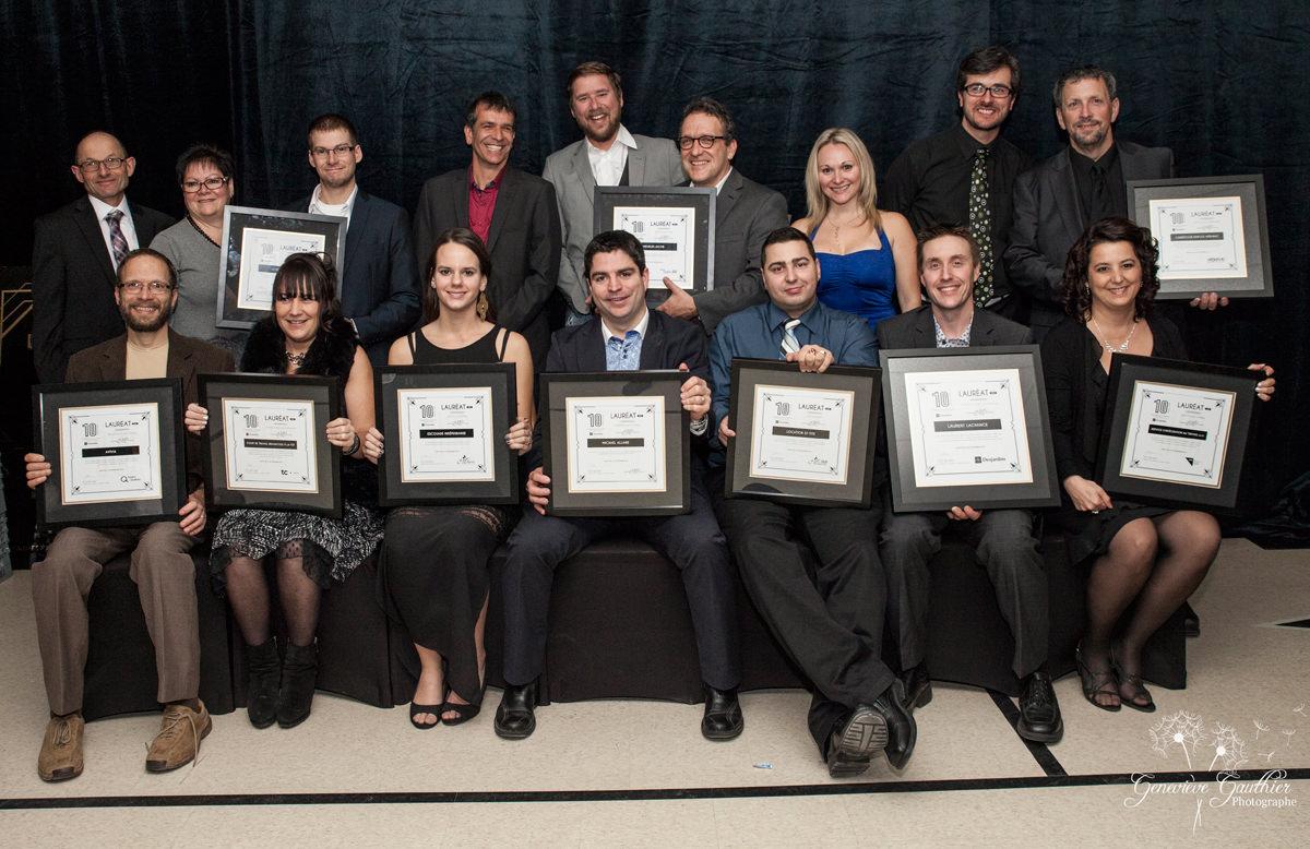 Gala reconnaissance Desjardins 2015 - Lauréats