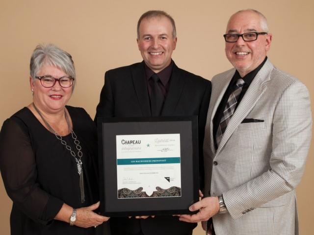 Gala reconnaissance 2016 - Lauréat Développement durable