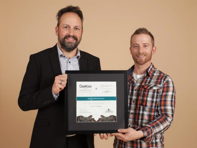 Gala reconnaissance 2016 - Lauréat Nouvelle entreprise