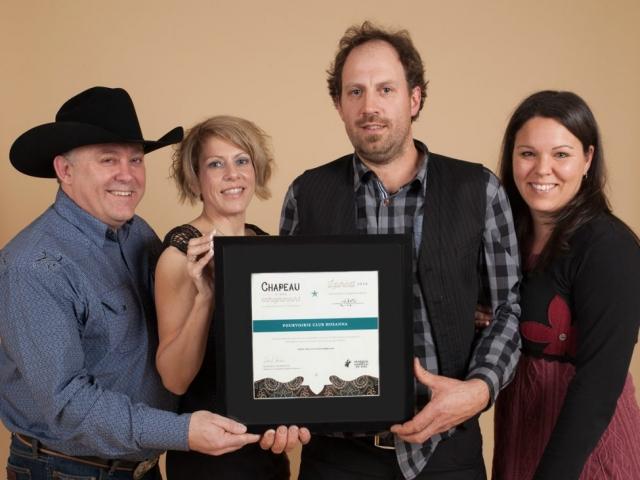 Gala reconnaissance 2016 - Lauréat Tourisme et Hébergement
