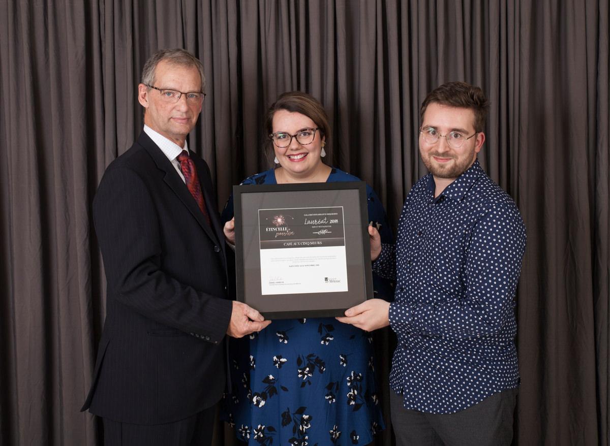 Gala reconnaissance Desjardins 2018 - Lauréat Bar et restauration