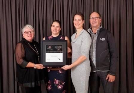 Gala reconnaissance Desjardins 2018 - Lauréat Développement durable