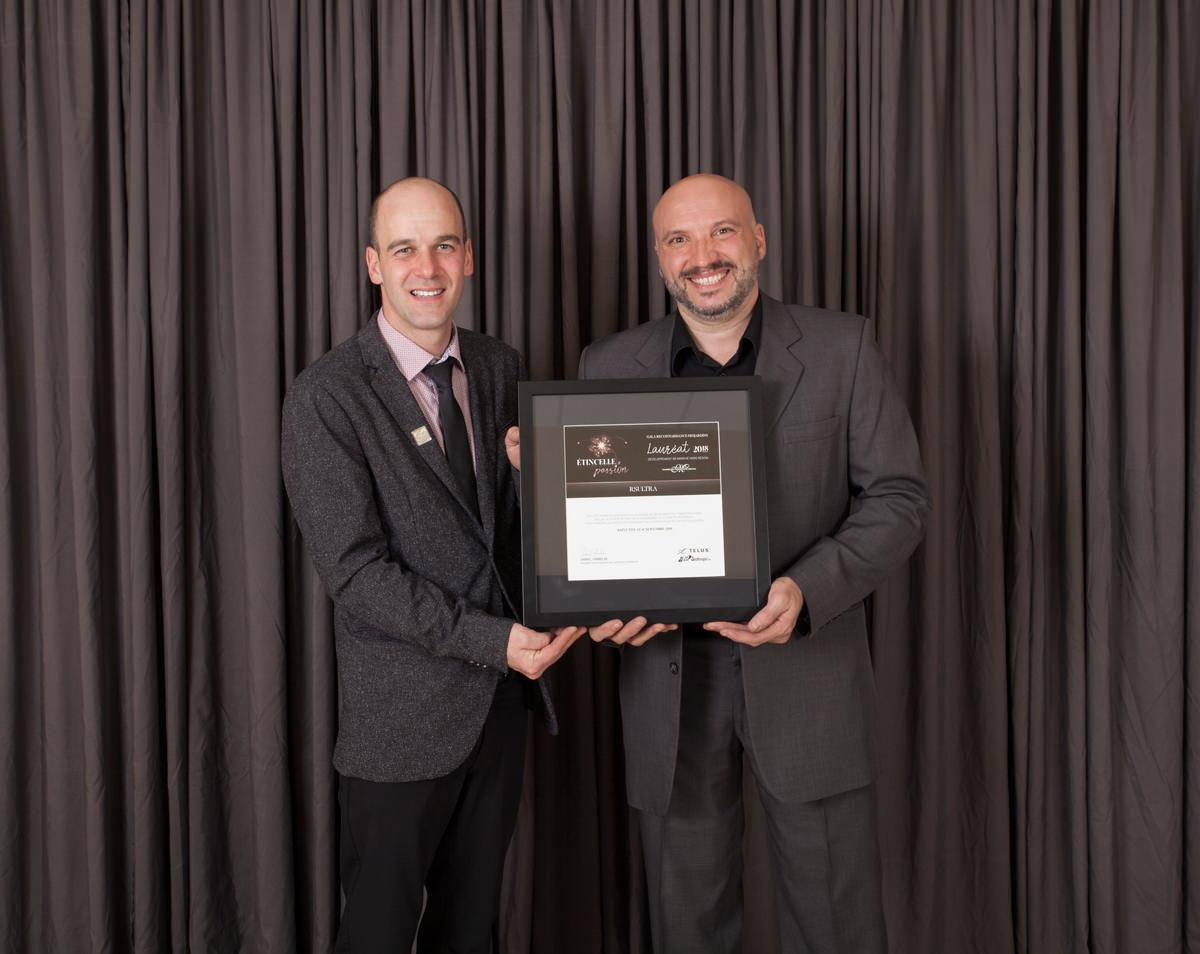 Gala reconnaissance Desjardins 2018 - Lauréat Développement hors-région