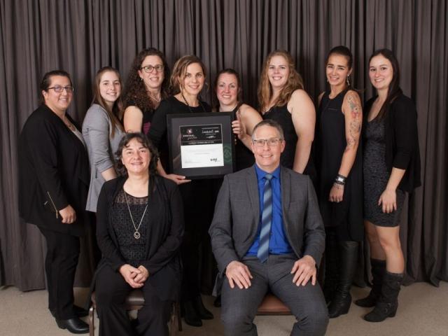 Gala reconnaissance Desjardins 2018 - Lauréat Entreprise de service