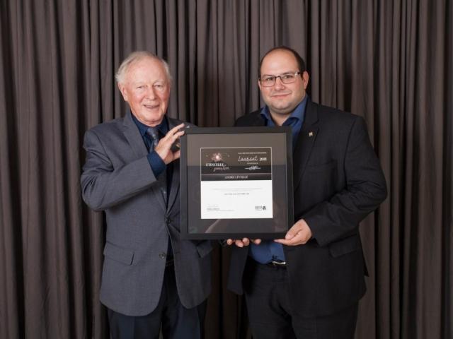 Gala reconnaissance Desjardins 2018 - Lauréat Intrapreneur
