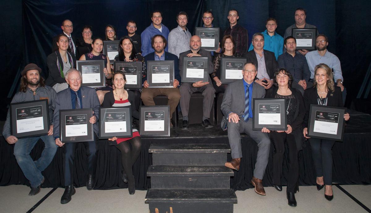 Gala reconnaissance Desjardins 2018 - Lauréats