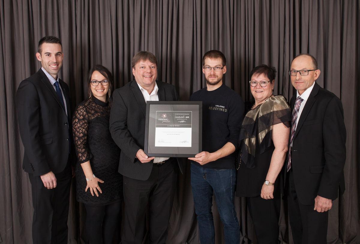 Gala reconnaissance Desjardins 2018 - Lauréat Mention spéciale