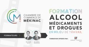Formation - Alcool, Médicaments et drogues en milieu de travail