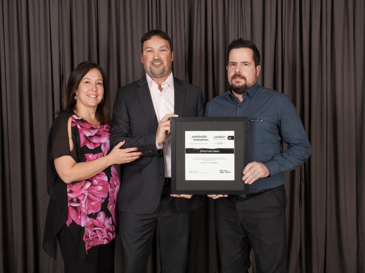 Gala reconnaissance 2017 - Lauréat Innovation et technologie