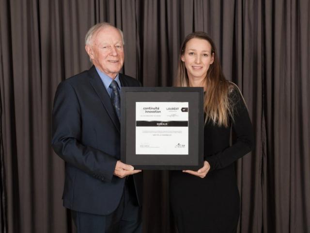Gala reconnaissance 2017 - Lauréat Investissement