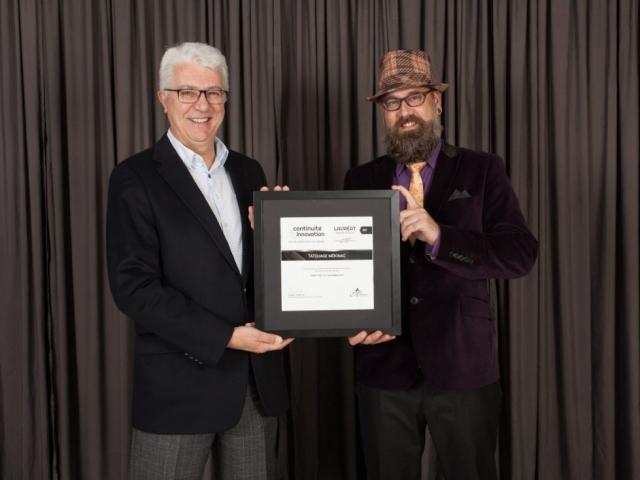 Gala reconnaissance 2017 - Lauréat Nouvelle entreprise