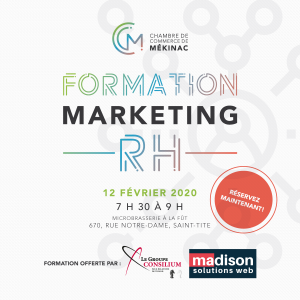 Formation : Marketing RH