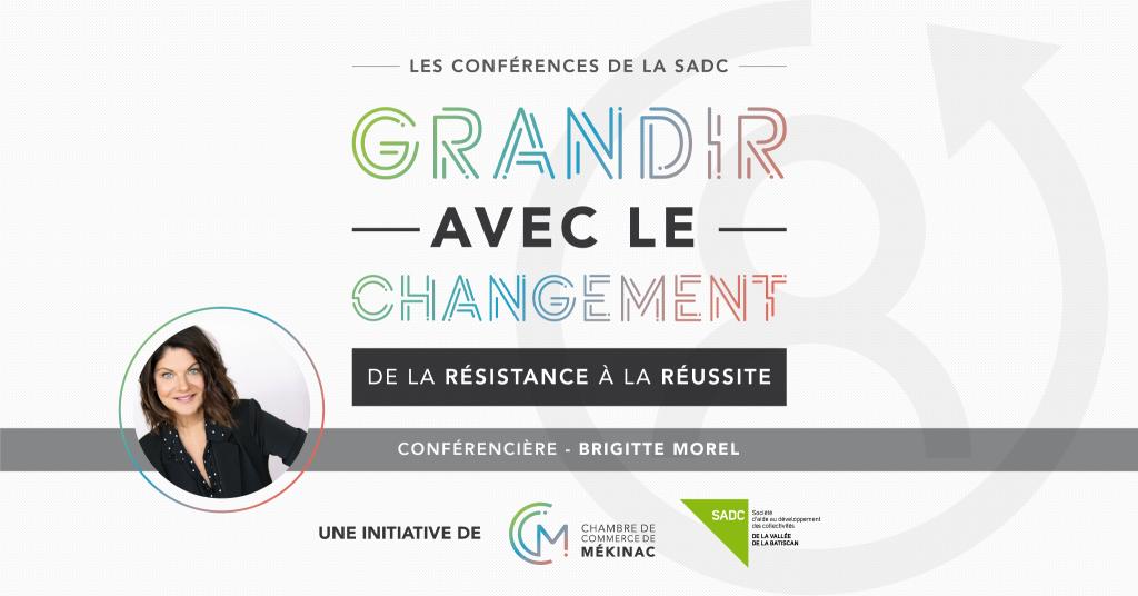 Les conférences de la SADC - Grandir avec le changement : De la résistance à la réussite