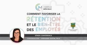 Dîner-conférence - Formation : Comment favoriser la rétention et le bien-être des employés