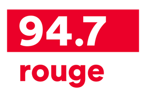 Logo 97.4 Rouge : Partenaire Expo Mékinac