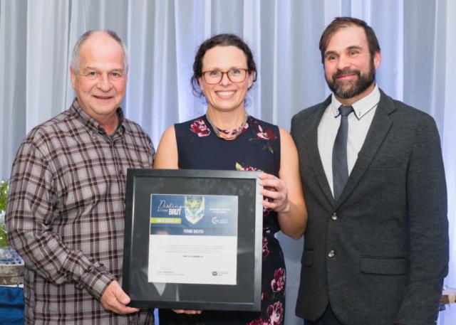 Gala reconnaissance Desjardins 2019 - Entreprise agricole - Lauréat Ferme Galyco