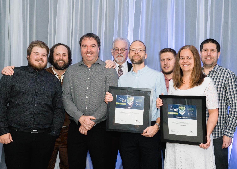 Gala reconnaissance Desjardins 2019 - Investissement - Lauréats Avivia et Microbrasserie À la Fût